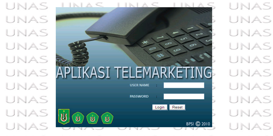 aplikasi telemarketing