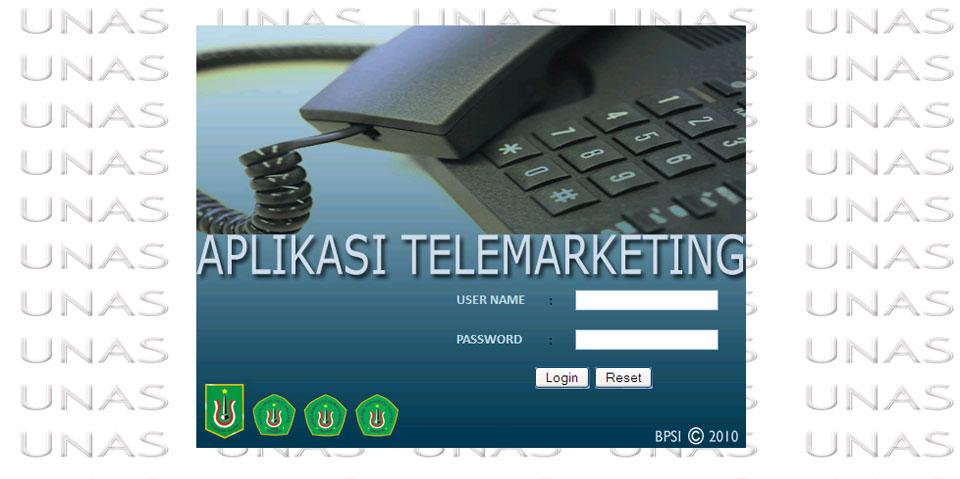 aplikasi telemarketing